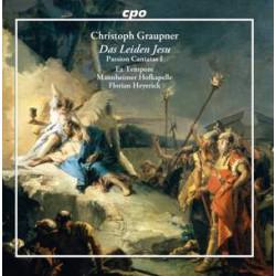 Graupner: Das Leiden Jesu Passion Cantatas I