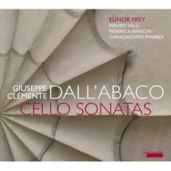 Giuseppe Clemente Dall'abaco: Cello Sonatas