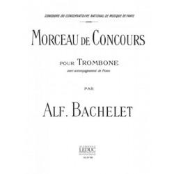 Morceau de Concours pour Trombone. Bachelet