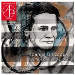 Joanna Bruzdowicz  Lella - oratorio profane
