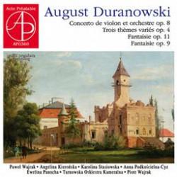 August Duranowski  Koncert skrzypcowy - muzyka kameralna