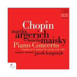 Chopin. Koncert fortepianowy e-moll, Sonata g-moll na fortepian i wiolonczelę op. 65