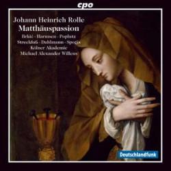 Rolle: Matthäuspassion (St. Matthew Passion)