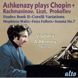 Ashkenazy plays Chopin, Rachmaninov, Liszt & Prokofiev