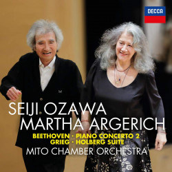 Beethoven: Piano Concerto No. 2 & Grieg: Holberg Suite
