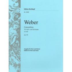 Concertino e-moll C.M. von Weber