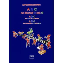 Adam Brzozowski  ABC na klarnet B lub C (z.1) Podręcznik do nauki gry na klarnecie dla najmłodszych