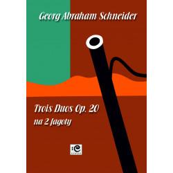 Schneider Georg Abraham, Trois Duos Op. 20