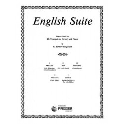 English Suite. Transcribed for Trumpet by R.B.Fitzgerald