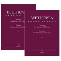 Beethoven, Ludwig van: Complete Sonatas for Pianoforte and Violin (Volumes I & II)