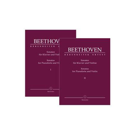 Beethoven, Ludwig van: Complete Sonatas for Pianoforte and Violin (Volumes I & II)