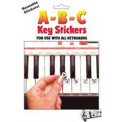ABC Keyboard Stickers. Naklejki