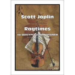 Ragtimes na skrzypce z fortepianem Scott Jopiln