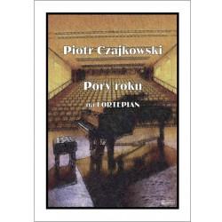 Pory roku na fortepian Piotr Czajkowski