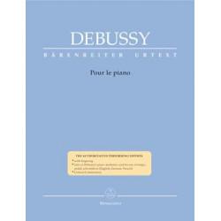 Debussy, Claude: Pour le piano (Urtext)