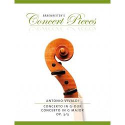 Vivaldi: Violin Concerto in G major op.3/3