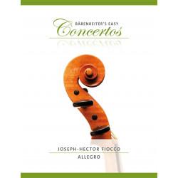 Fiocco, J: Allegro for Violin and Piano in G major
