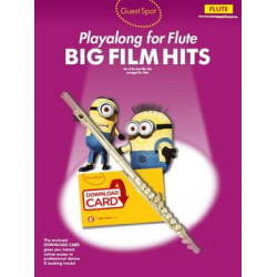 Big Film Hits Playalong For Flute