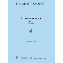 Wieniawski: Etudes-Caprices Op.10
