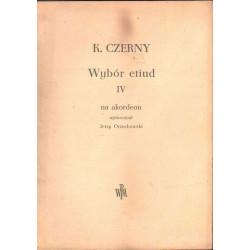 Wybór etiud IV na akordeon Karl Czerny