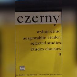 Wybór etiud II na akordeon Karl Czerny