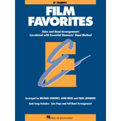Essential Elements - Film Favorites na trąbkę