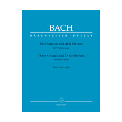 ohann Sebastian Bach: Drei Sonaten und drei Partiten