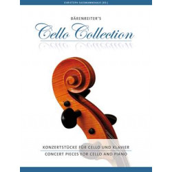 Concert Pieces for Cello and Piano