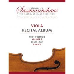 Sassmannshaus Viola Recital Album 2