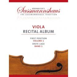 Sassmannshaus Viola Recital Album 1