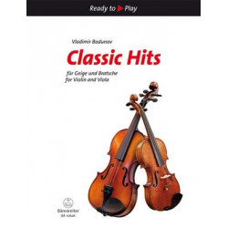 Classic Hits for Violin and Viola