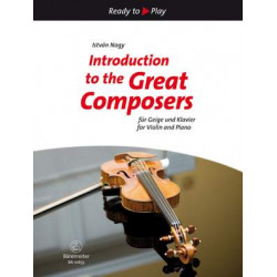 Introduction to the Great Composers for Violin and Piano