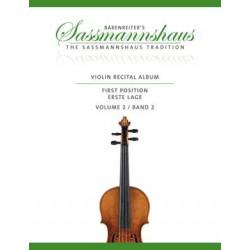 Violin Recital Album 2