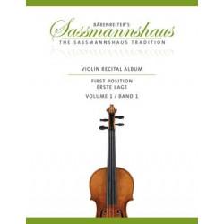 Violin Recital Album, Volume 1
