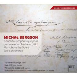 Michał Bergson Concerto symphonique pour piano avec orchestre op. 62 Music from the Opera Luisa di Monfort