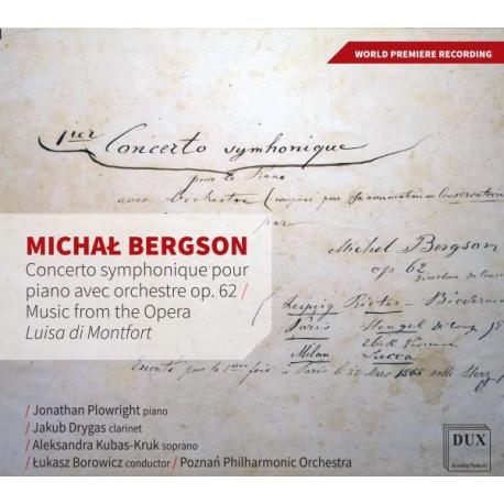 Michał Bergson Concerto symphonique pour piano avec orchestre op. 62 Music  from the Opera Luisa di Monfort - Muzyczna Pasja