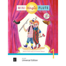 Barbara Gisler-Haase  Mini Magic Flute cz. 1 + CD