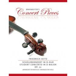 Seitz, Friedrich: Student Concerto in D major op. 22