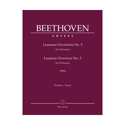 Beethoven, Ludwig van Leonore Overture for Orchestra no. 3