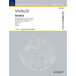 Vivaldi, A: Sonata in G minor op. 13a/6 RV 58