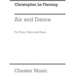 Christopher Le Fleming: Air And Dance for Flt Or Oboe and Piano