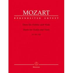 Mozart, WA: Duos (2), (K.423,424) (Urtext)