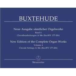 Buxtehude, D: Organ Works 4