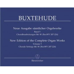 Buxtehude, D: Organ Works 5