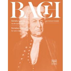 Sonaty i partity na skrzypce solo Jan Sebastian Bach