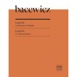 Legenda na fortepian i skrzypce Grażyna Bacewicz