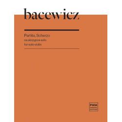 Partita, Scherzo na skrzypce solo Grażyna Bacewicz