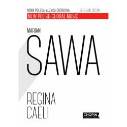 Regina Caeli  Satb and organ Marian Sawa