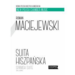 Suita hiszpańska for 2 guitars Roman Maciejewski