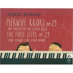 Pierwsze kroki op. 29 na fortepian ma cztery ręce Samuel Majkapar